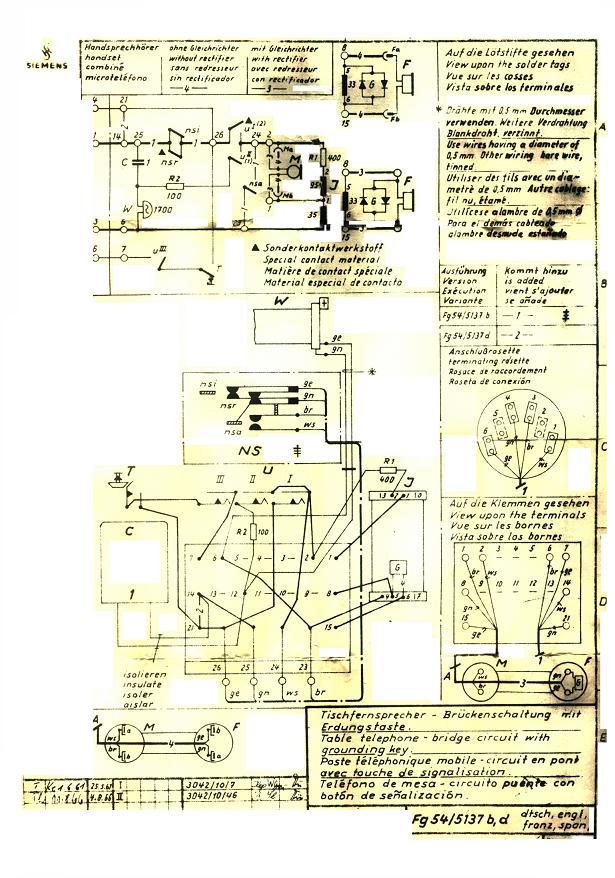 Haustelefon (Anlage für 2 Teilnehmer) - Mikrocontroller.net