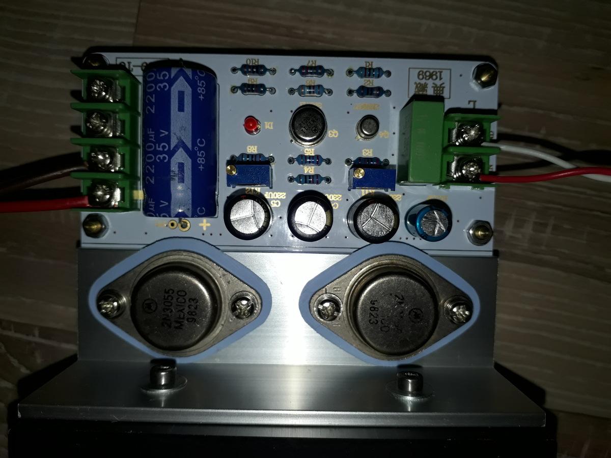 Class A Verstärker durchmessen - Mikrocontroller.net