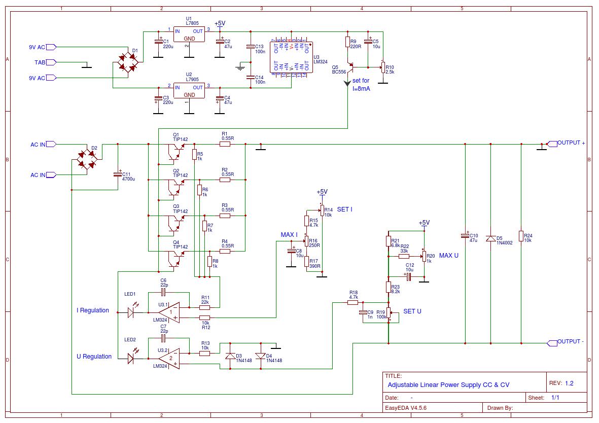 Lineares Labornetzgerät schwingt - Mikrocontroller.net