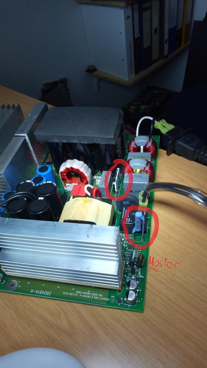 Crest Audio Pro 7200 Pa Endstufe Defekt Konstantstromquelle Fuer Power Led Mikrocontrollernet Preview Image For Img 20180128 131709