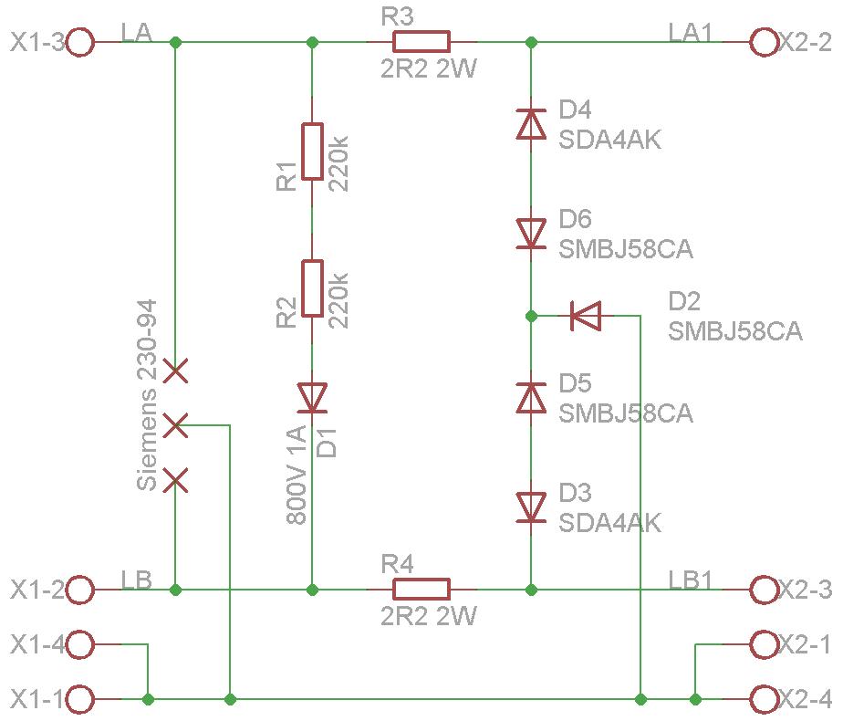 Überspannungsschutz TAE VDSL 50 für Fritzbox - Mikrocontroller.net