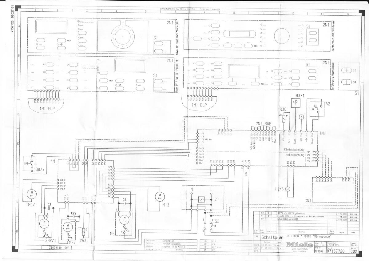 Fantastisch Schaltplan Für Den Whirlpooltrockner Fotos - Elektrische ...