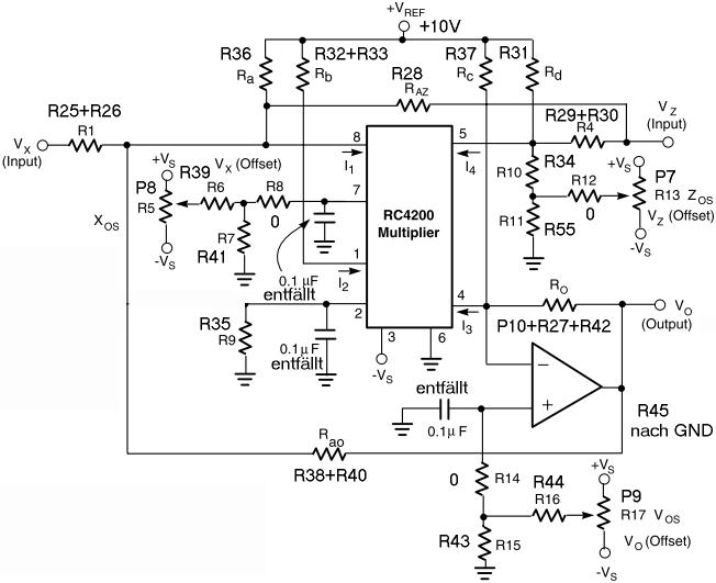 Beschaltung RC4200 Dividierer - Mikrocontroller.net