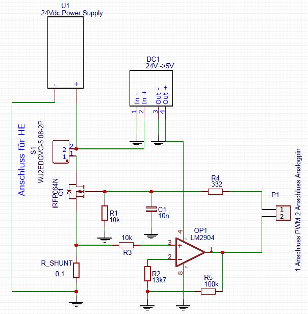 Diskrepanz zwischen berechnetem Strom und gemessenem Strom ...