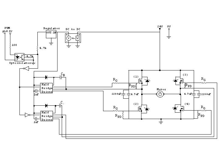 H Br 252 Cke F 252 R Motorsteuerung Pwm Eingang Mikrocontroller Net