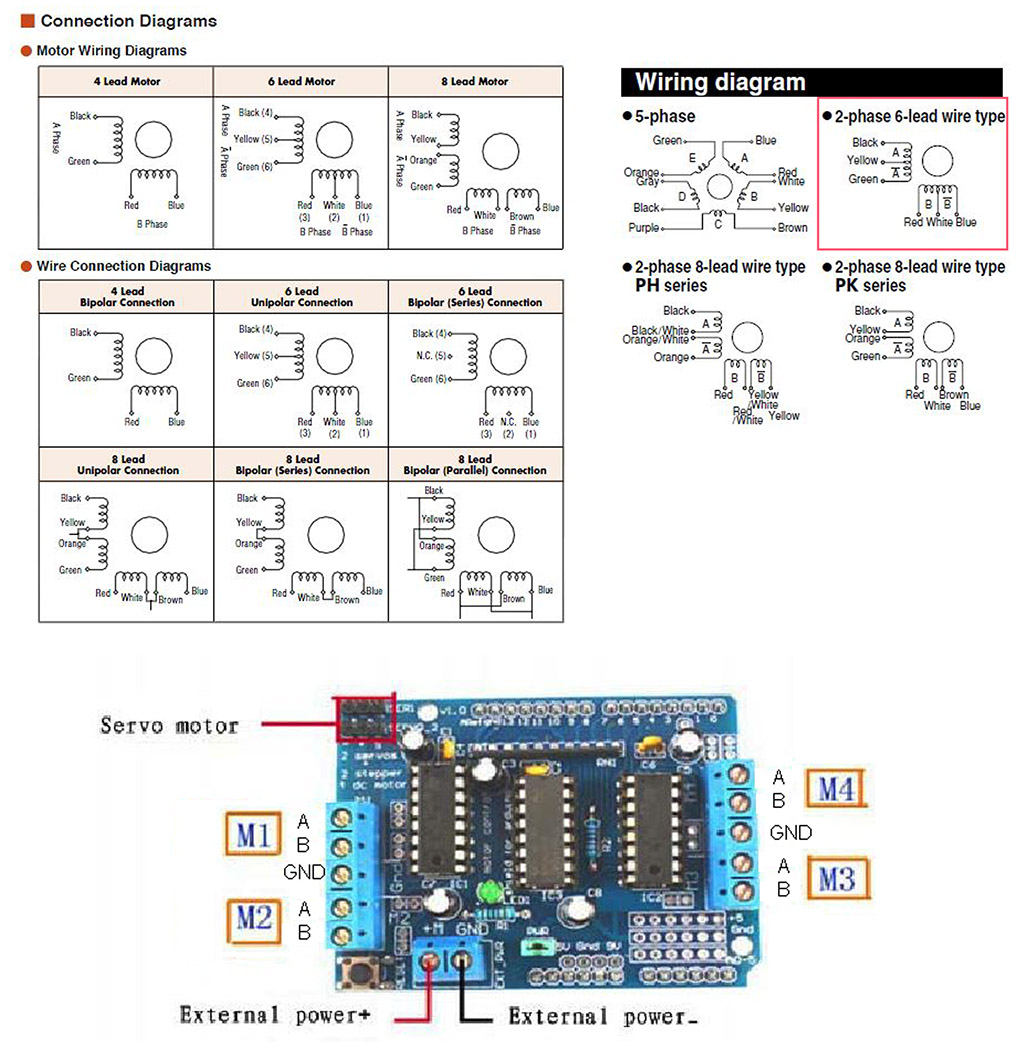 Stepper An L293d Circuit Preview Image For Wiring Vexta