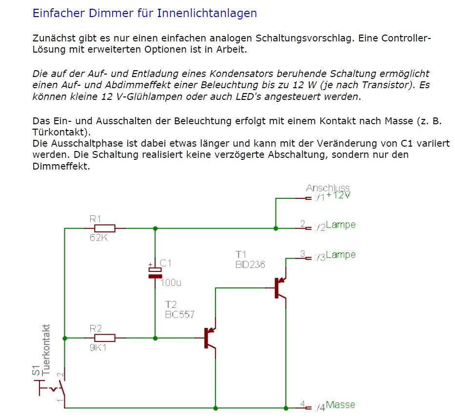 Ausgezeichnet Schaltplan Für Led Leuchten Galerie - Elektrische ...