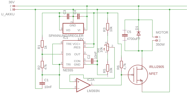 treiber für 36v gokart motor selber bauen - mikrocontroller