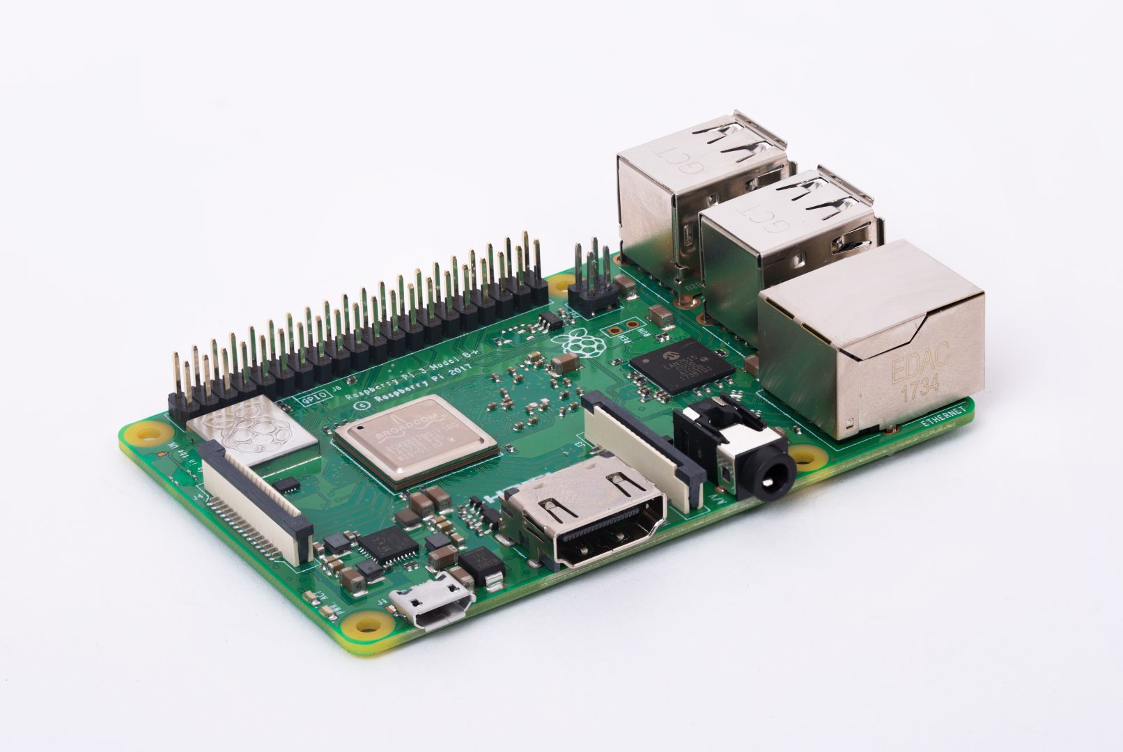62355571bd8b86 Raspberry Pi 3 Model B+ - Mikrocontroller.net