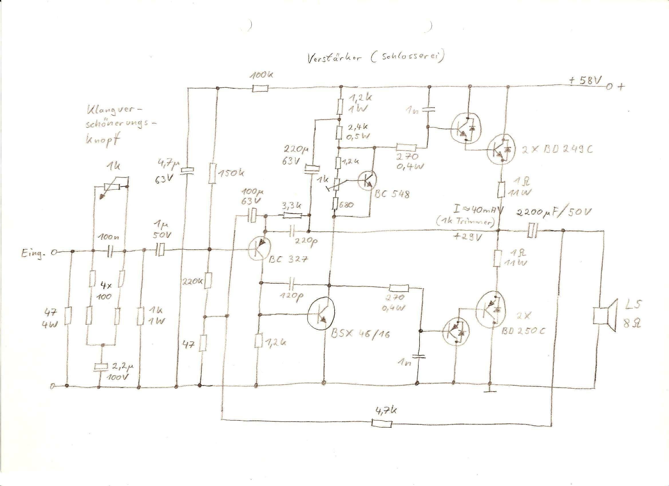 Verstärker selbst bauen, wo fängt man an? - Mikrocontroller.net