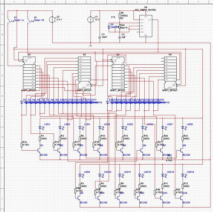 Lauflicht und Transistoren - Mikrocontroller.net