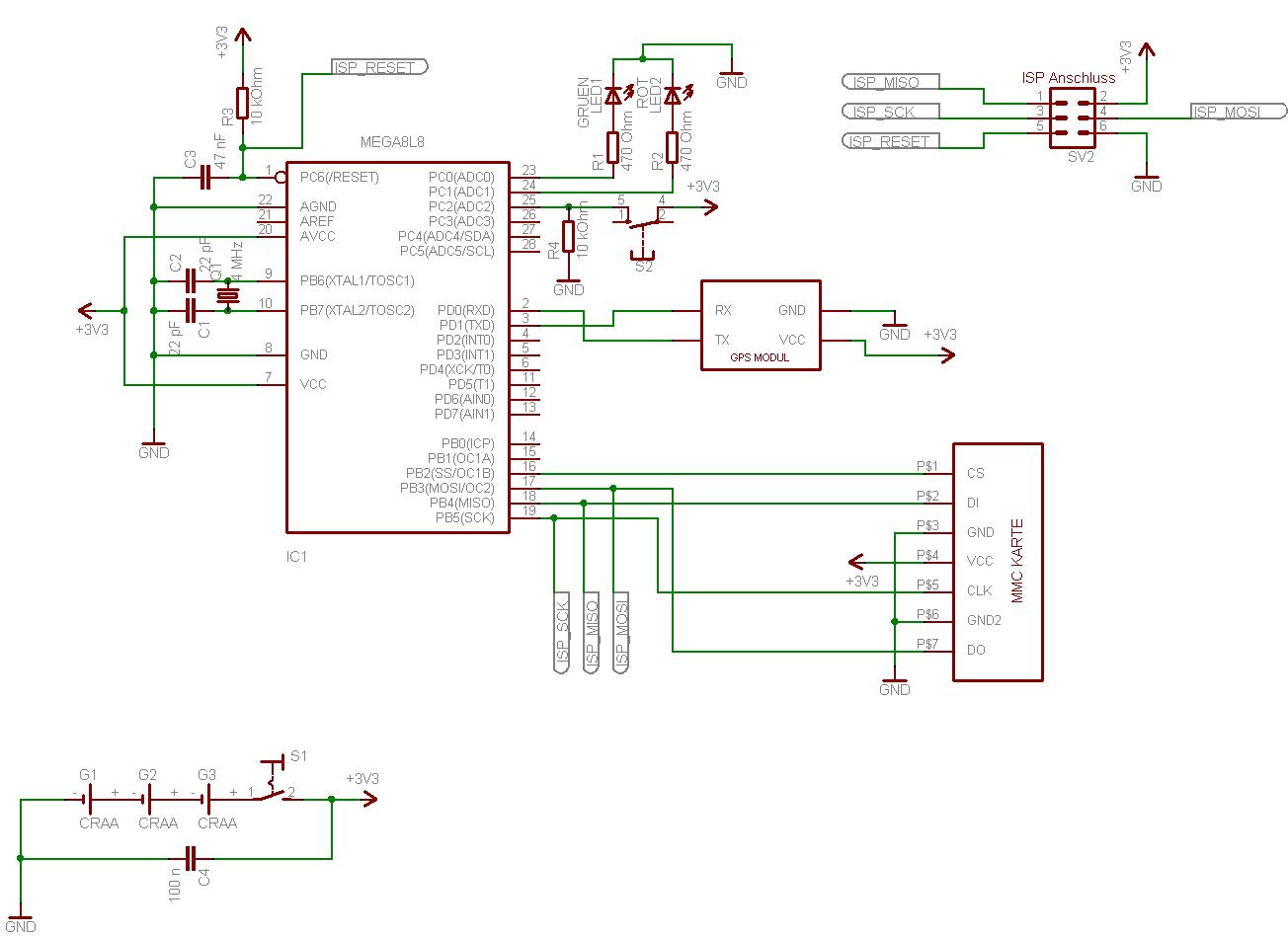 Projekt : GPS Tracker - Mikrocontroller.net