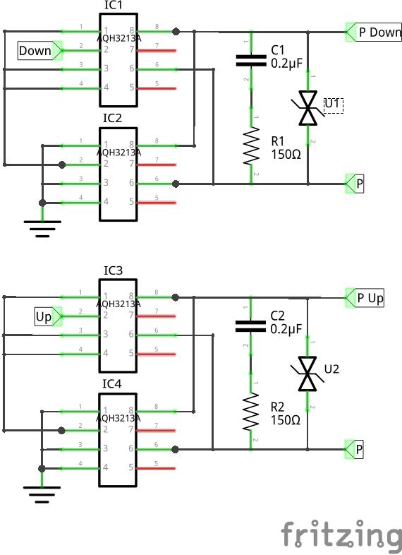 PhotoTriac-Treiberschaltung für Rohrmotoren - Mikrocontroller.net