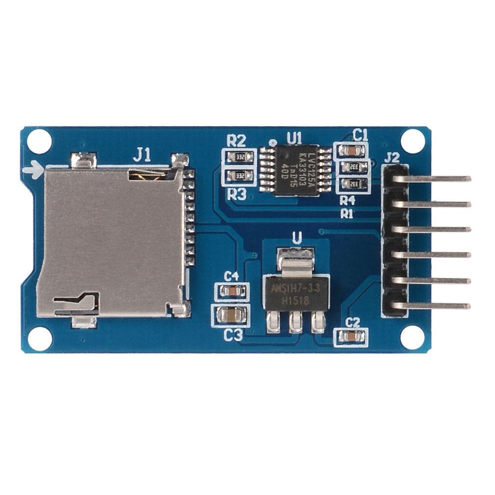 Schema von Micro-SD-Modul - Mikrocontroller.net