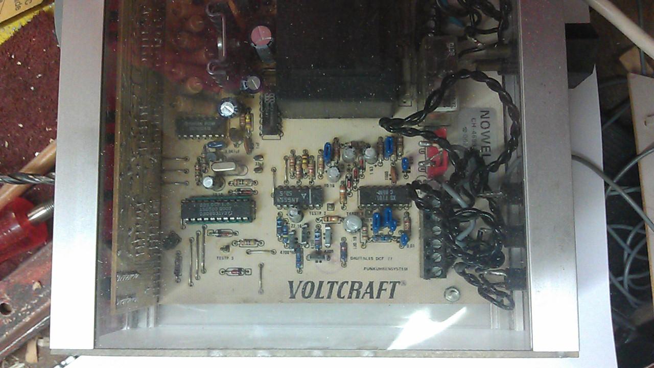 S] Schema zu VOLTCRAFT Digitales DCF77 Funkuhrsystem ...