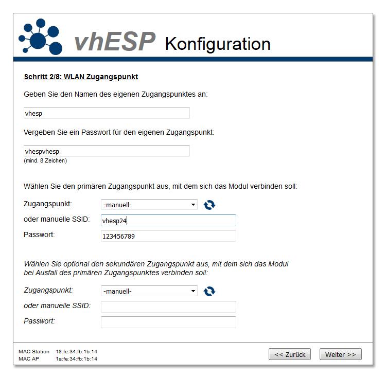 Konfigurierbare Firmware für ESP-01 (und andere ESP8266 Module