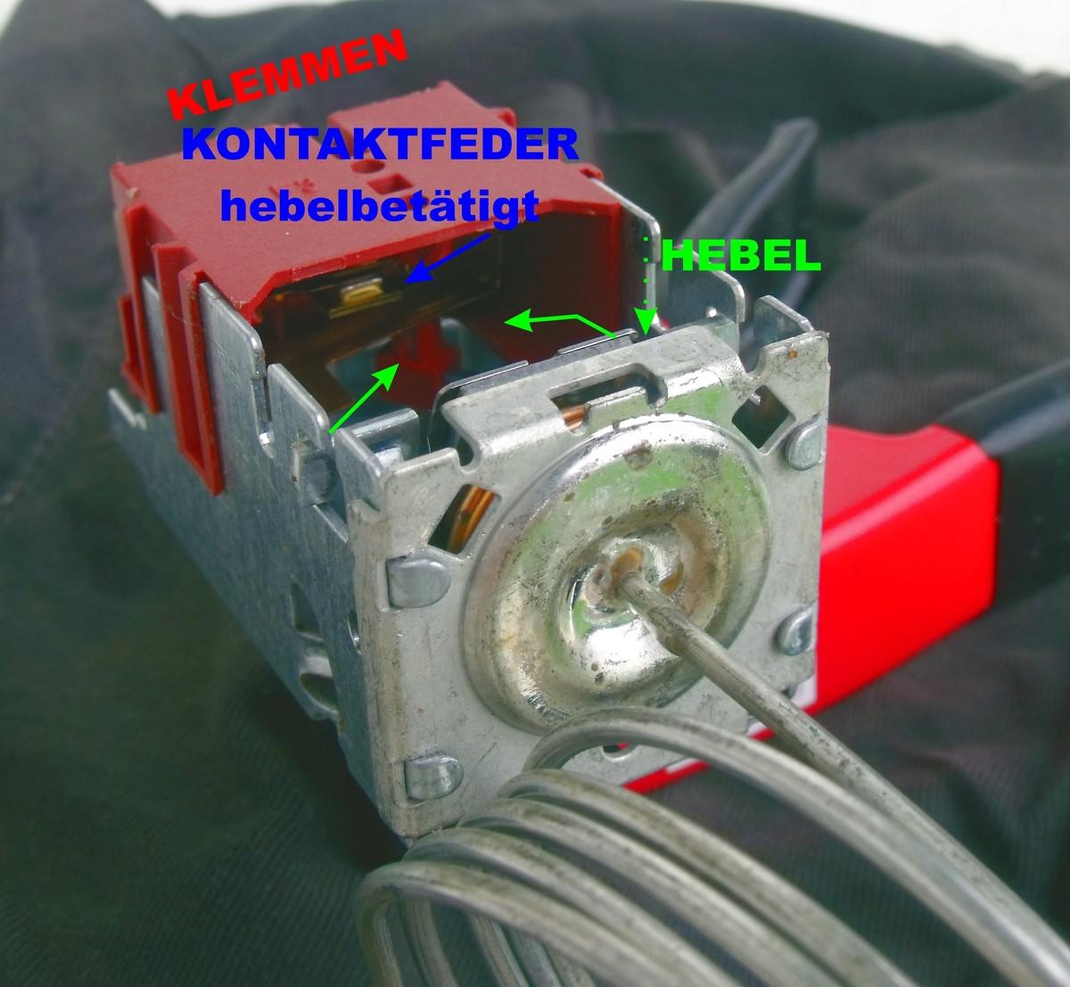 Gut bekannt Kühlschrankthermostat defekt? - Mikrocontroller.net GS96