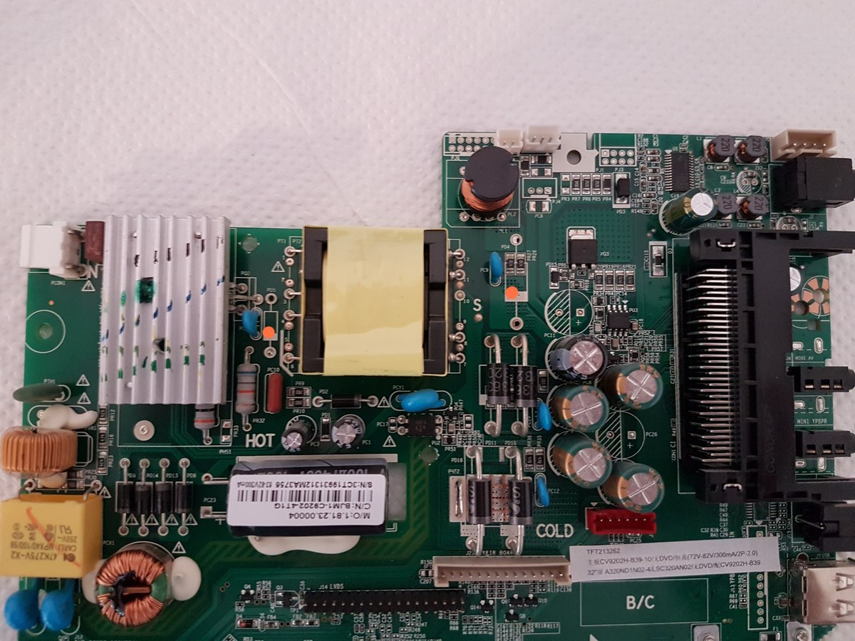 Reparatur Jtc 2032c Dvb 73203 Lcd Tv Spv9202 Cv9202h B39 Schematic Diagram Http Elektrotanyacom Bekotelchassis127 Preview Image For 20180708 153404