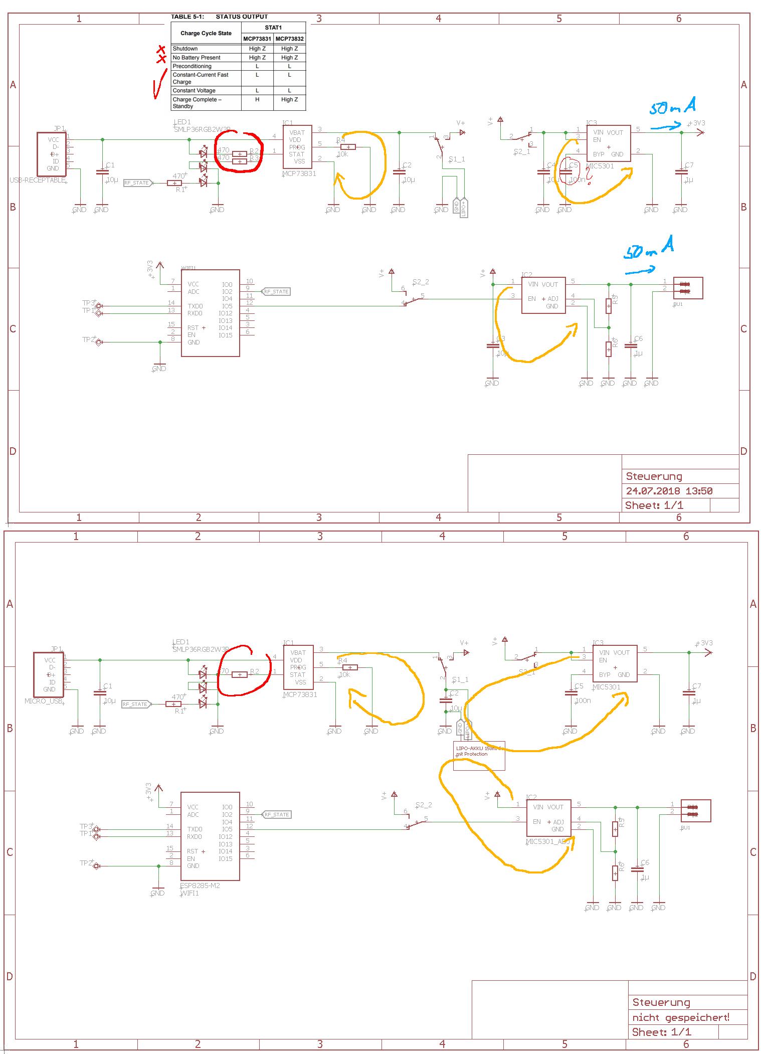 Bauteile Einsparen C An Spannungsreglern Uzi Schematic Preview Image For Reduzieren