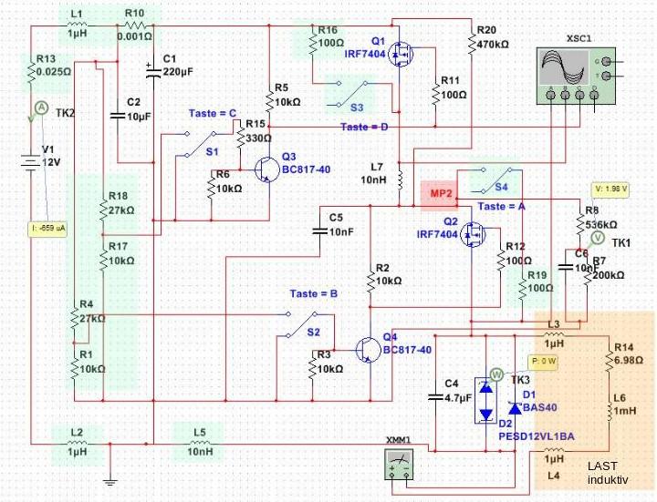 Durchlegierte MOSFET\'s - Mikrocontroller.net
