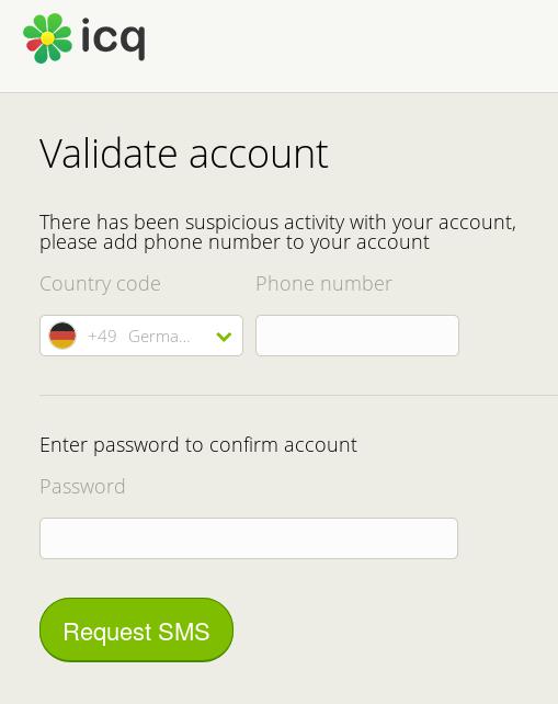Icq Account Suchen