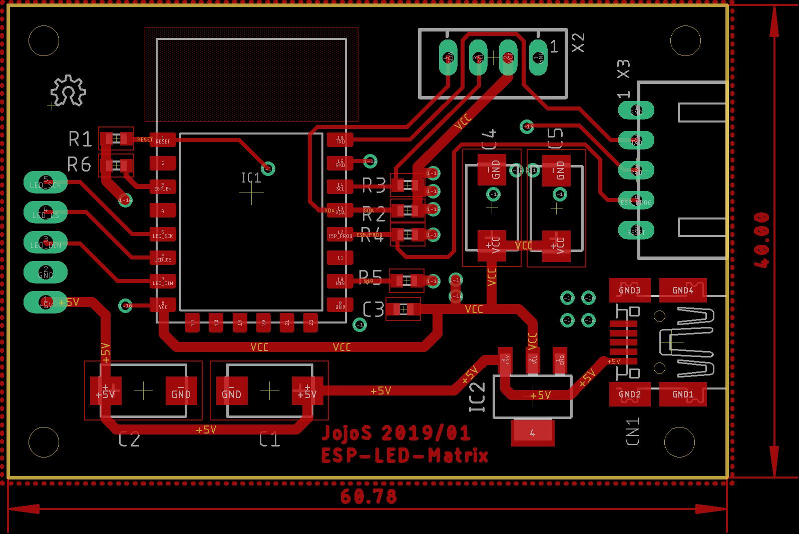 LED-Matrix mit ESP8266 und MAX7219 Modulen - Mikrocontroller net