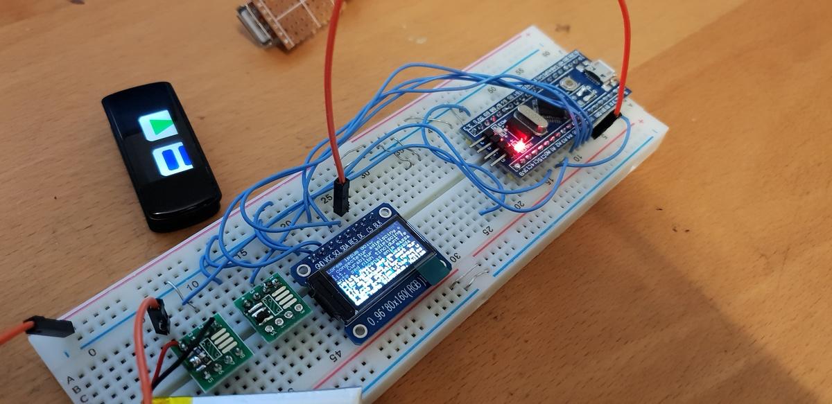 Arduino Custom Firmware für Fitness Armband mit NRF52