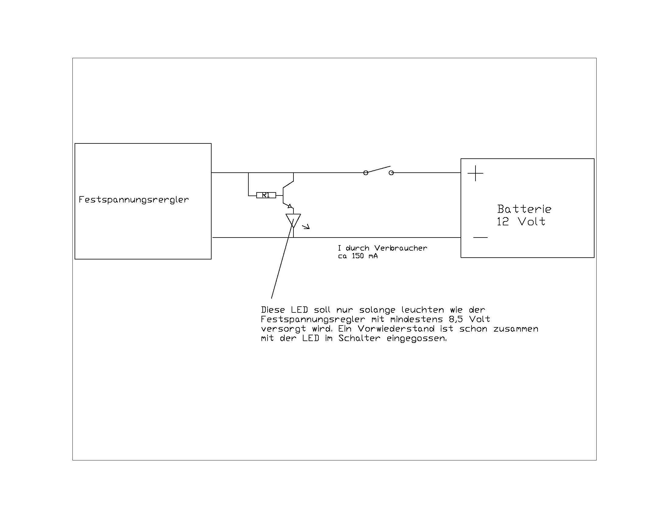 Atemberaubend Schaltplan Für 12 Volt Schalter Galerie - Elektrische ...