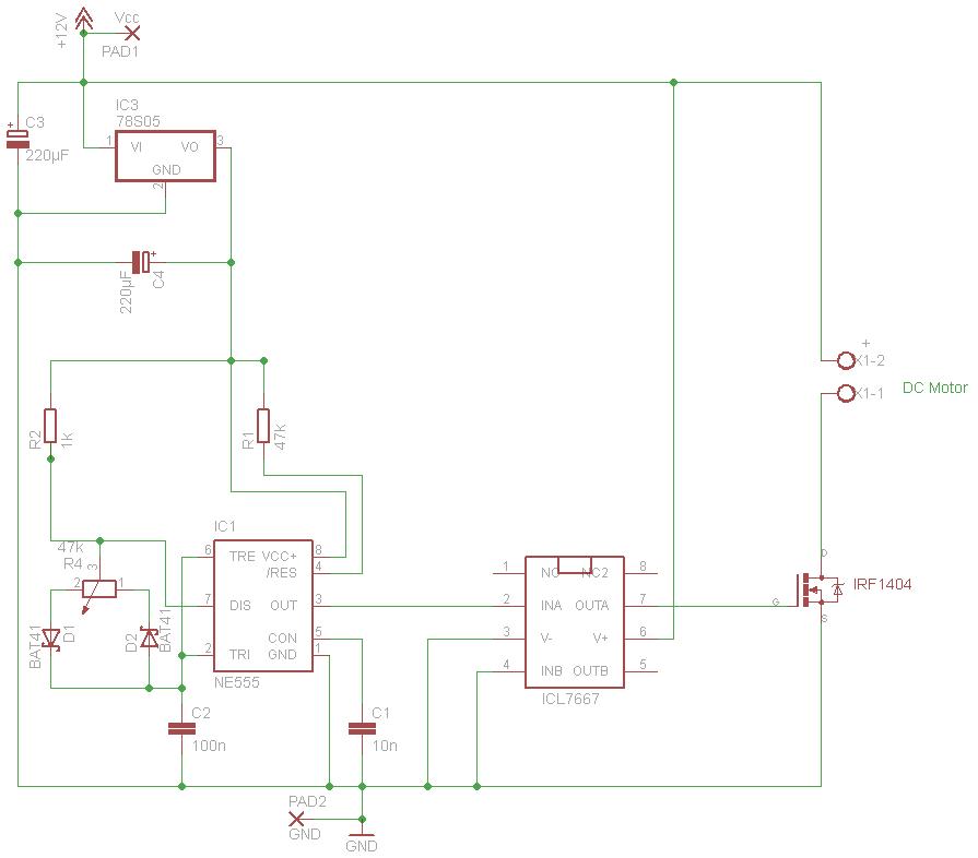 Drehzahl regeln / Strom begrenzen 12V DC Motor - Mikrocontroller.net