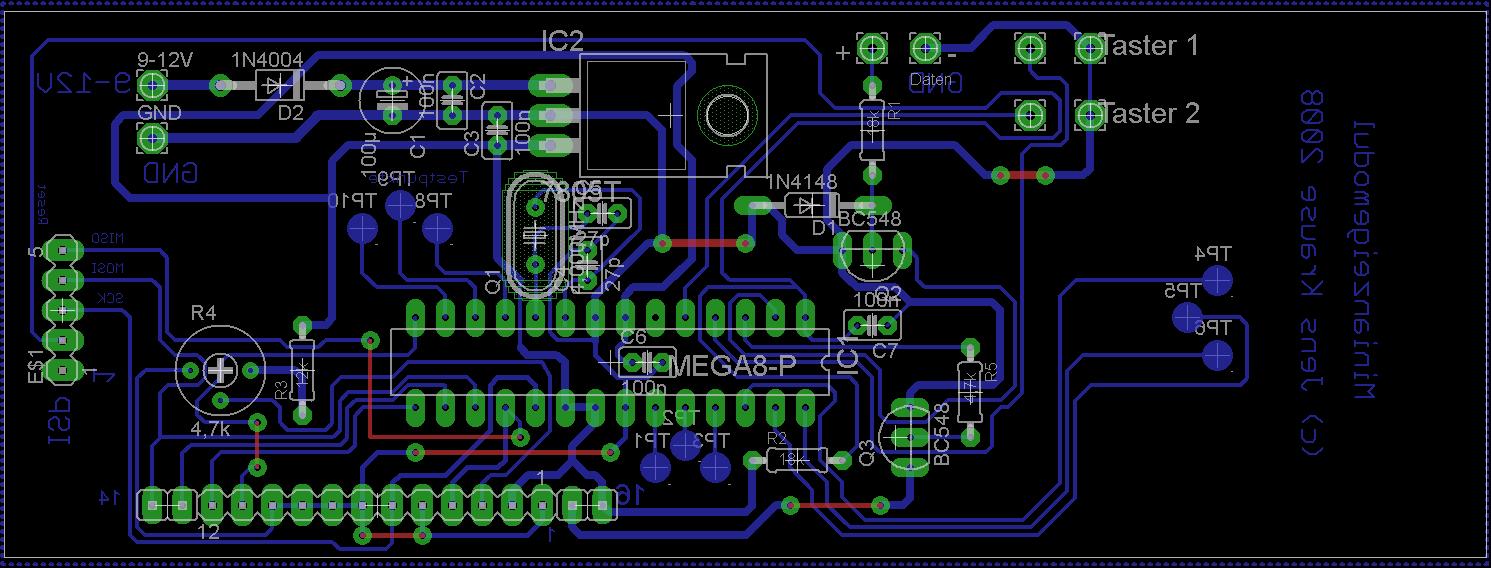 Steckbrett zu Platinenlayout, Nix geht - Mikrocontroller.net