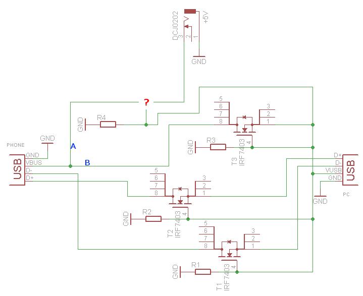 Aktive USB-Ladestation - Mikrocontroller.net
