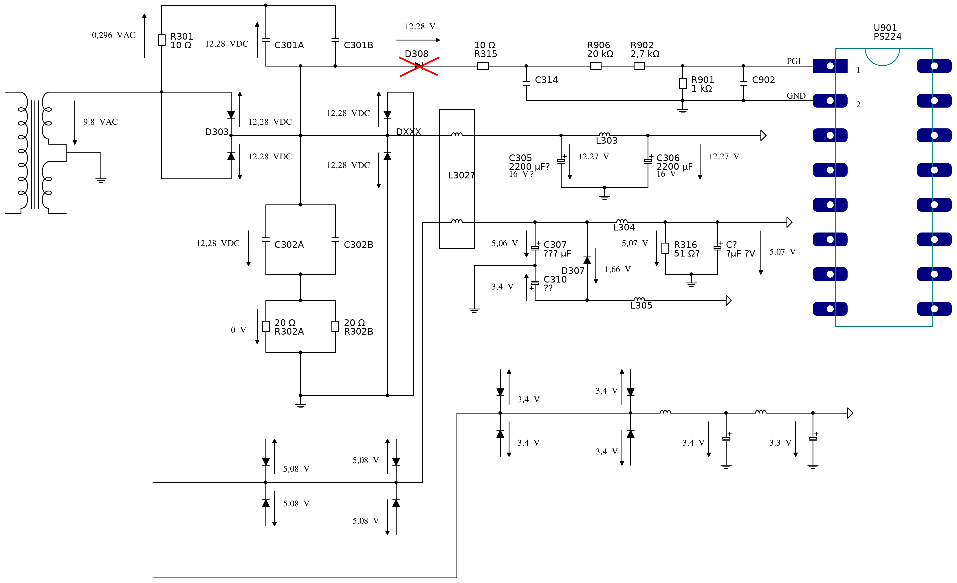 power good input pc netzteil smd diode identifizieren. Black Bedroom Furniture Sets. Home Design Ideas