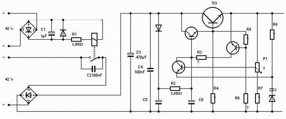 Wer sucht noch Schaltung 42 V ? - Mikrocontroller.net