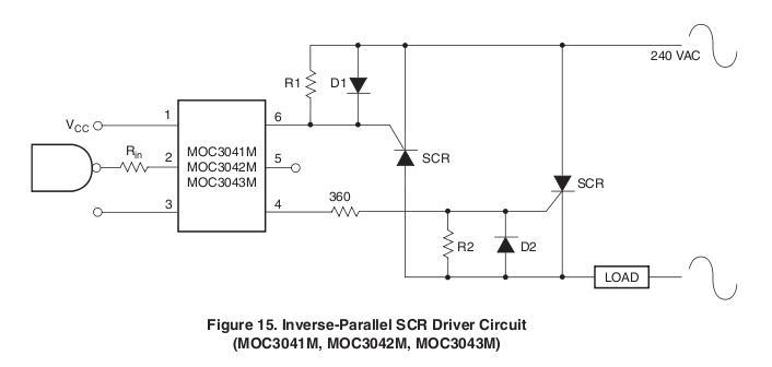 Leistungsregelung mit AVR - Frage zu Thyristoren/Triacs ...