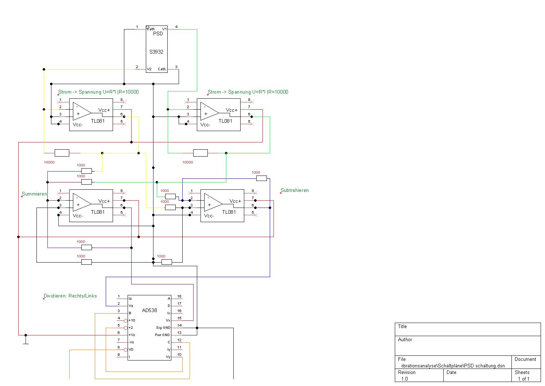 Beschaltung eines analogen Positionssensors - Mikrocontroller.net