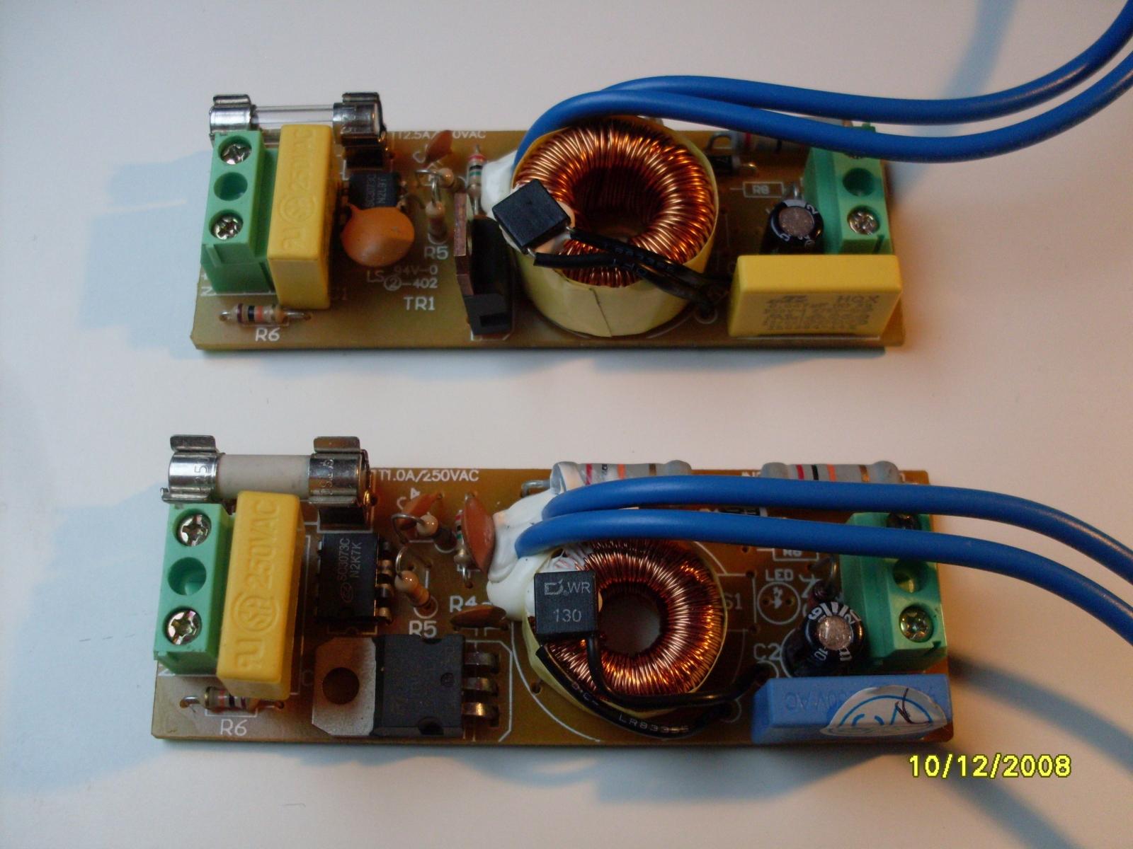 dimmer stehlampe defekt mikrocontroller