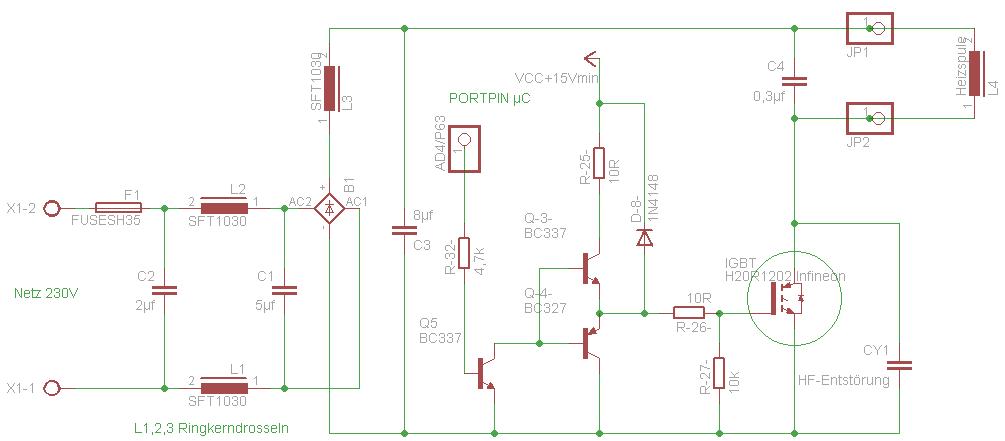 Induktionsheizung (nicht) ganz einfach - Mikrocontroller.net