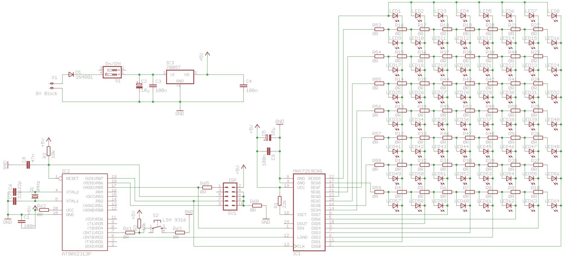 Frage Zum Max7219 U D Led Matrix The Rgb Project Application Circuit Also Wenn Man Sich Nur Die Anguckt Knnte Ich Das Praktisch So Bernehmen Wrdet Ihr Pins Vom Auch Anordnen