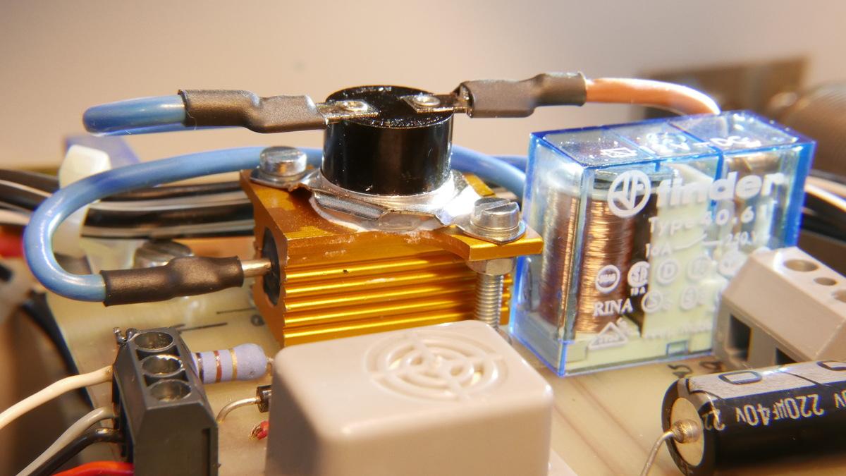 Thermosicherung Thermoabschalter Abschalter Sicherung Keramik Abschaltung 229°C