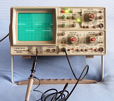 Best scope for tube type radio repair
