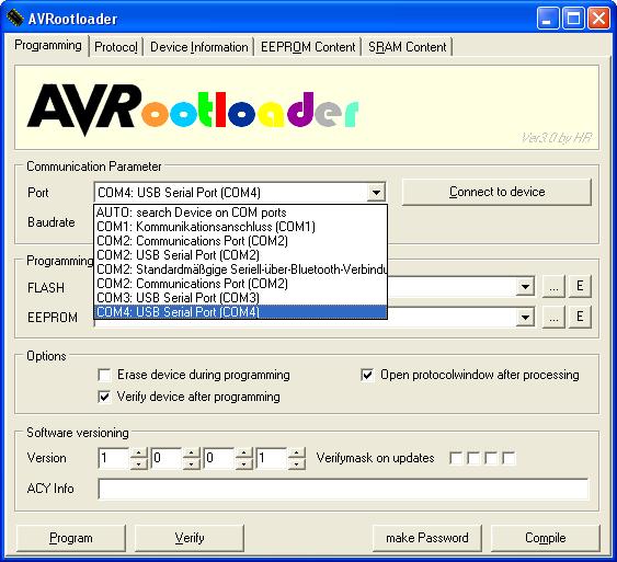Uart Bootloader Avr