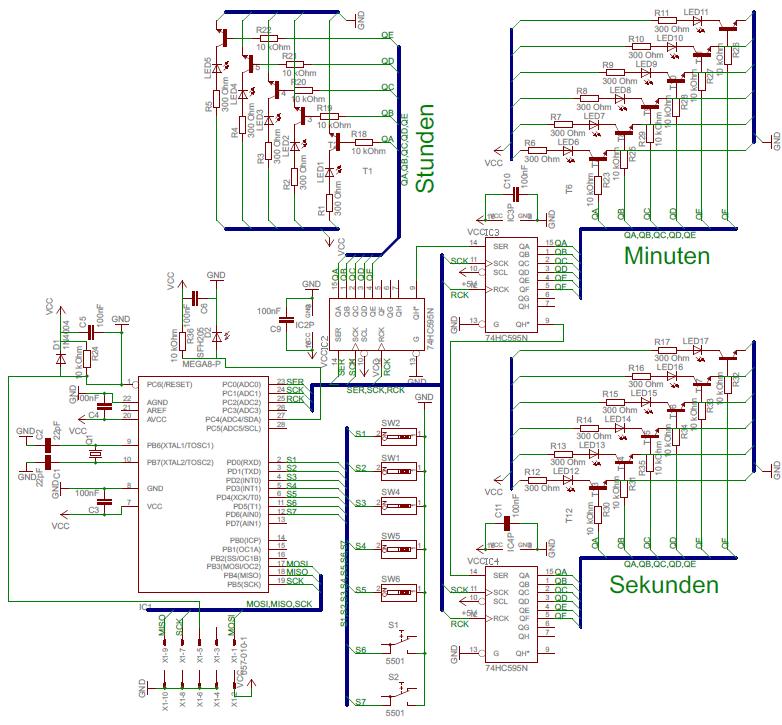 Brauche Hilfe bei Schaltplan - Mikrocontroller.net