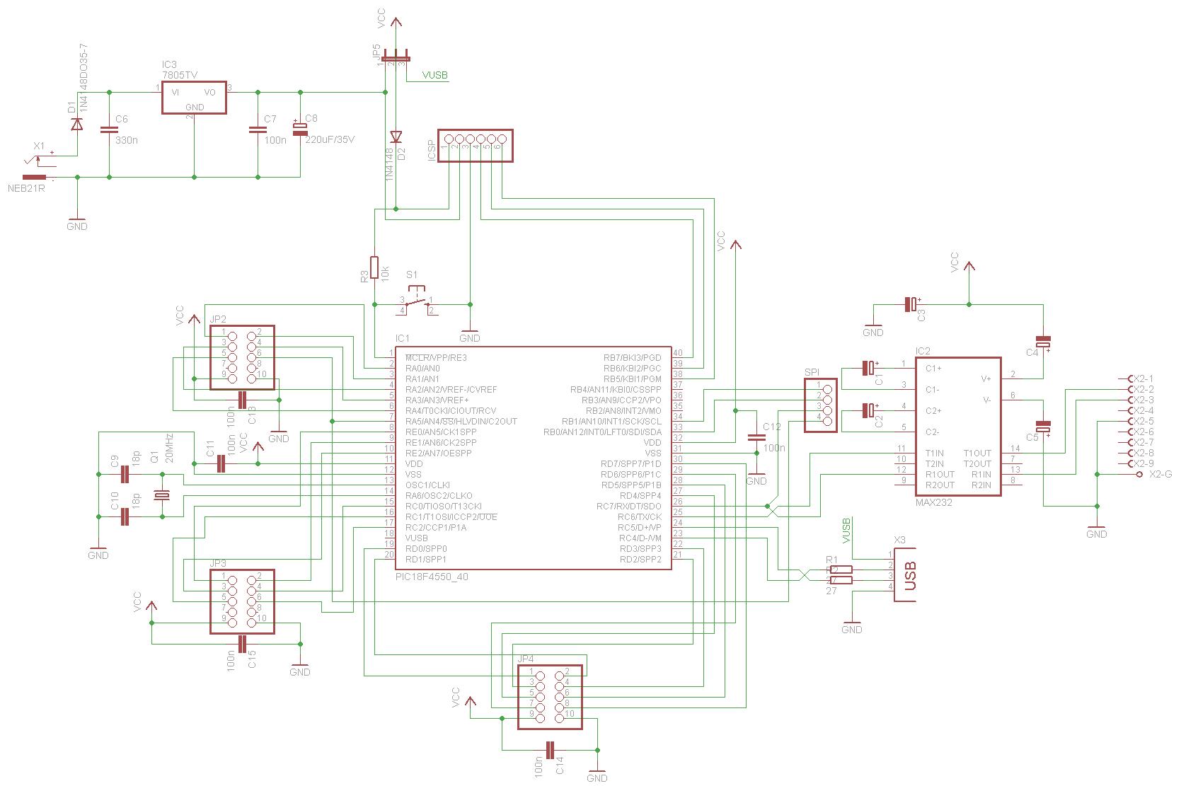 PIC Schaltplan mit ICSP, USB und ext. Versorgung - Mikrocontroller.net
