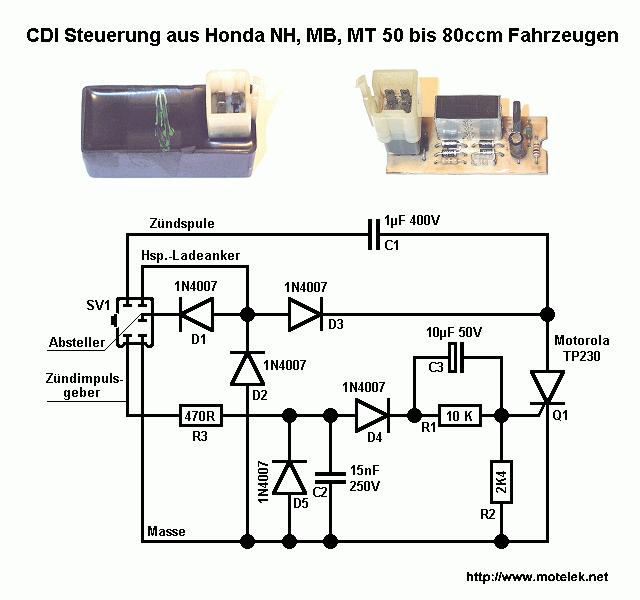 Ausgezeichnet Cdi Schaltplan Bilder - Elektrische ...