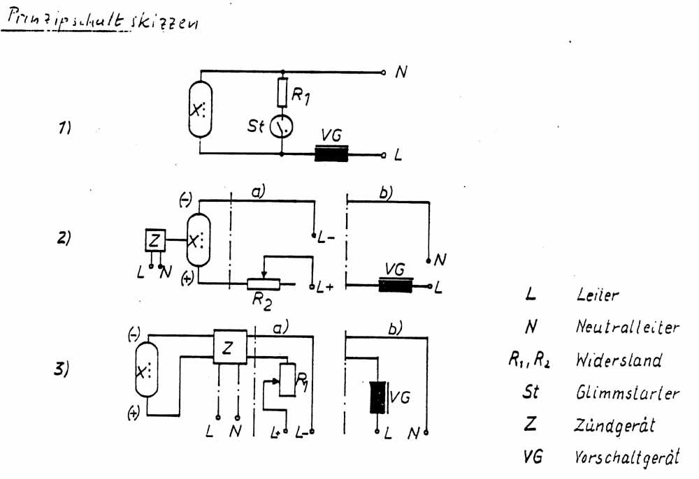 Vorschaltgerät für Quecksilber kurz Bogen Lampe - Mikrocontroller.net