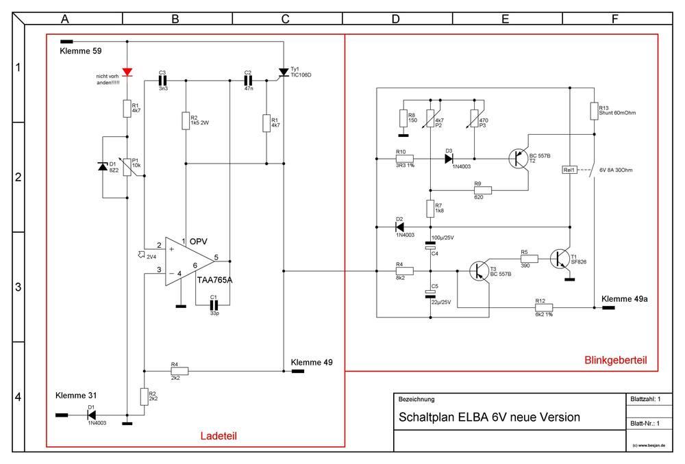 Elba 6V/12V - Gleichrichter - Blinker (Erklärung) - Seite 6