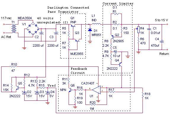 Power on Circuit Diagram Examples