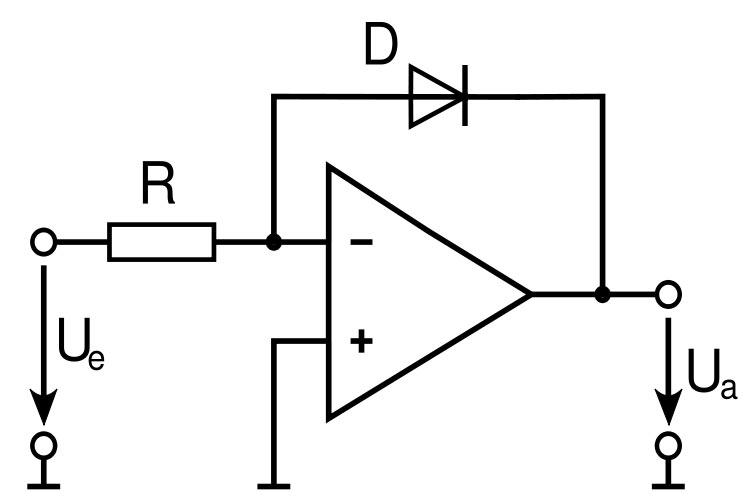 logarithmierer diode