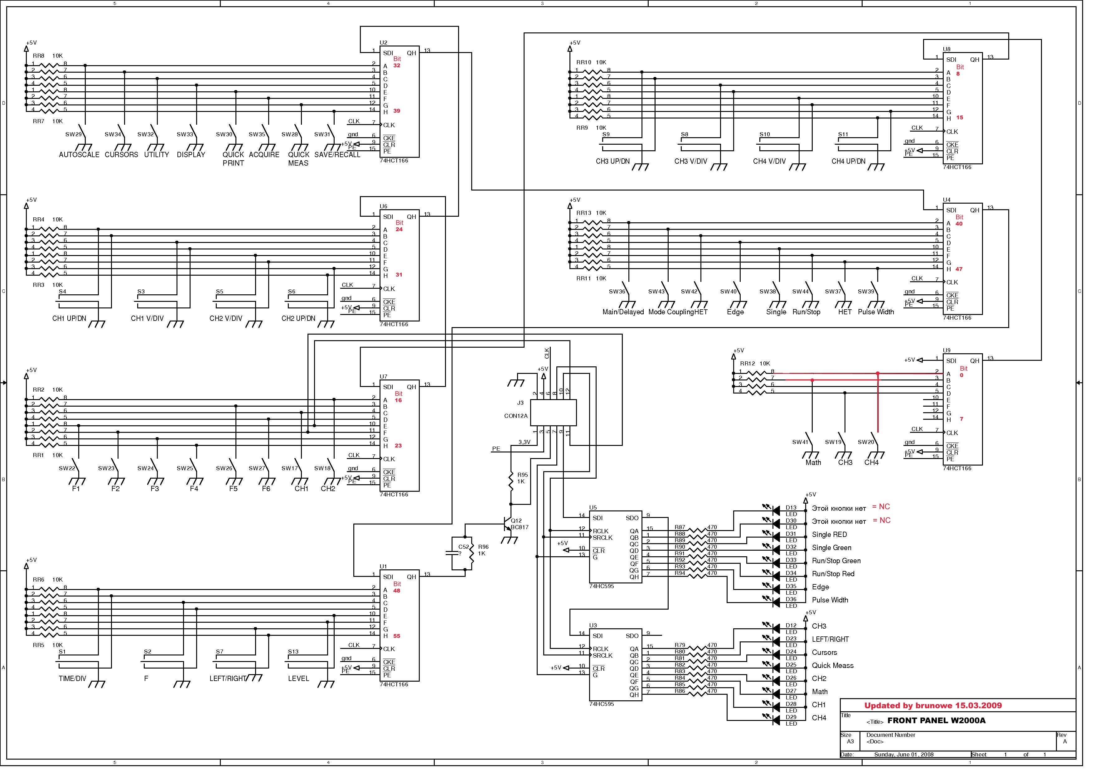 Wittig(welec) DSO W20xxA Hardware - Mikrocontroller.net