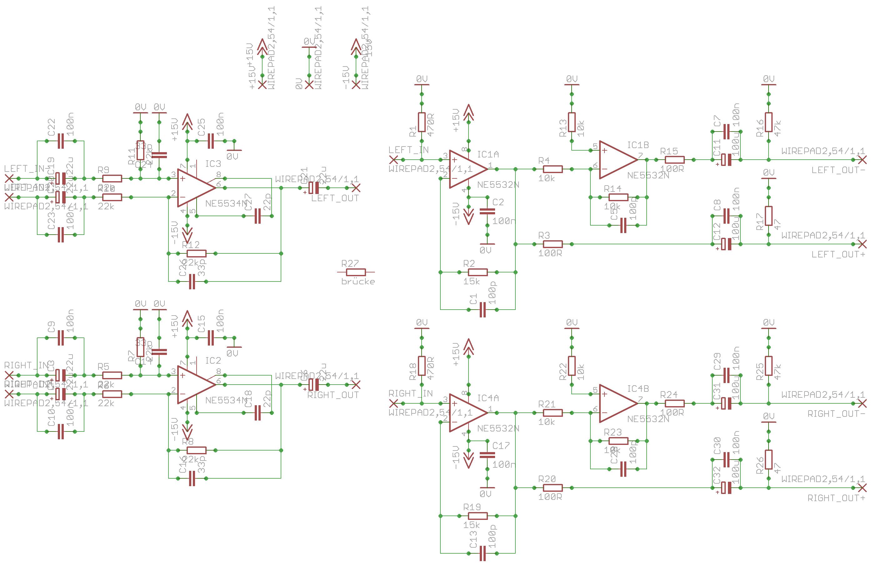 Balanced Input/Balanced Output Schaltplan - Mikrocontroller.net